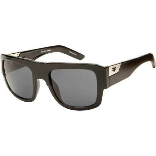 Fox Racing The Decorum '13 Adult Lifestyle Sunglasses - Polished Black/Grey / One Size Fits - Sunglasses Waver