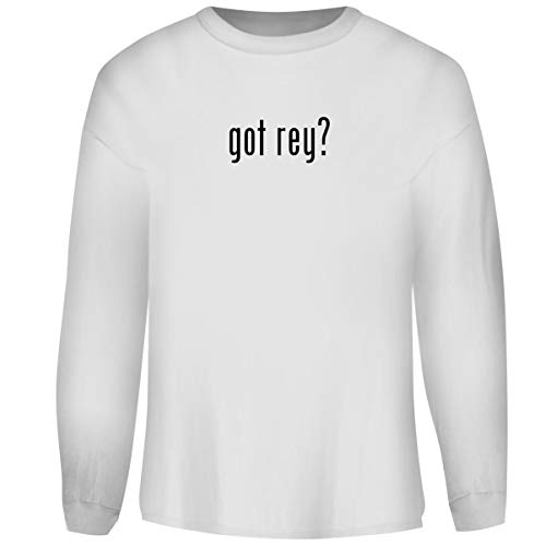 One Legging it Around got Rey? - Men's Funny Soft Adult Crewneck Sweatshirt, White, ()