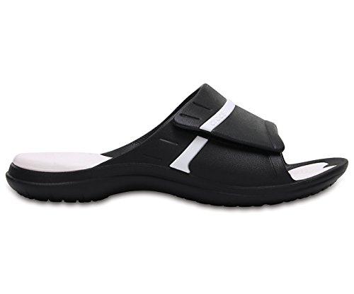 Crocs Unisexe MODI Sport Diapositives, EUR: 41, Black/White