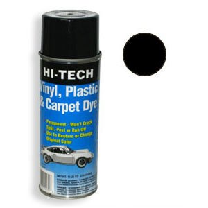 - Detail King Hi-Tech Black Vinyl Plastic & Carpet Aerosol Dye