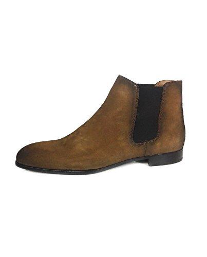 Zara Men Brown split suede ankle boots 2003/302 (43 EU   10 US   9 UK) by Zara
