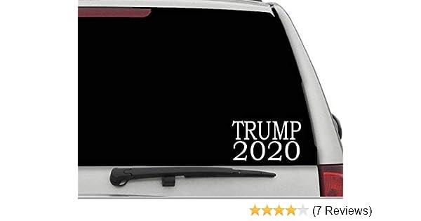 StickerLoaf Brand TRUMP FOR AMERICA 2020 Election Car Truck Laptop Decal Sticker Patriotic support trumper train USA America Proud American Political Pride