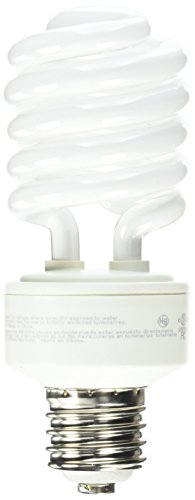 (TCP CFL Spring Lamp 150W Equivalent, Daylight White (5100K) MOGUL Base Spiral Light Bulb, 277 Volt)