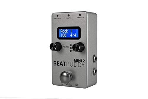 Singular Sound BeatBuddy MINI 2: Personal Hands Free Drummer Guitar Effect Pedal (Best Drum Pedal For Guitar)