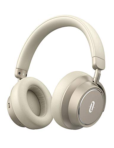 TaoTronics Active Noise Cancelling Headphones Bluetooth Headphones SoundSurge 46 Over Ear Headphones Wireless Headphones with Deep Bass, Fast Charge 30H Playtime Bluetooth 5.0 for Travel Work TV PC