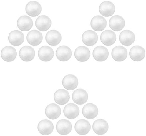 Sharplace 約30個 発泡 スチロール ボール 球 モデリング フォーム ハンドメイド DIY 工芸品 全3サイズ