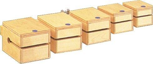 Ludwig LE-102 Temple Block Set