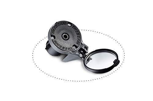 (CORKY Drop Bar Bike Mirror - 360º Rotatable & Collapsible - Fashionable Design Bar End Folding Mirror Foldable Convex Rear View Safe & Stylish Bike Riding (Gray))