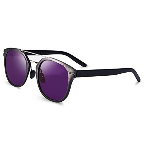 COLORTREE Classical Retro Wayfarer Polarized Sunglasses F...