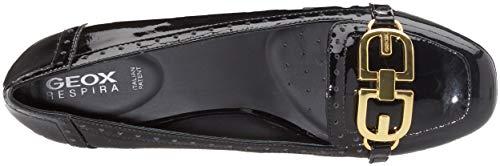 Tacco Audalya black Donna Geox Nero B C9999 Scarpe Con D OXWOp5q8T