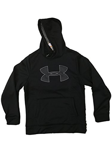 (Under Armour Mens Storm Caliber Hoodie (Small, Black/Grey))