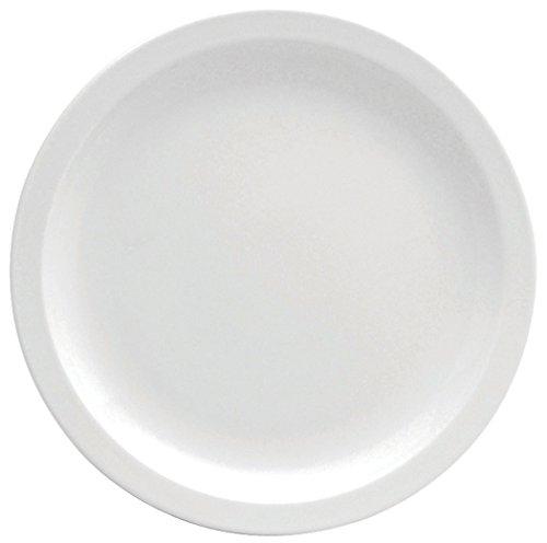 Oneida Rim (Oneida Foodservice F8000000118 Porcelain Narrow Rim Plate, 9