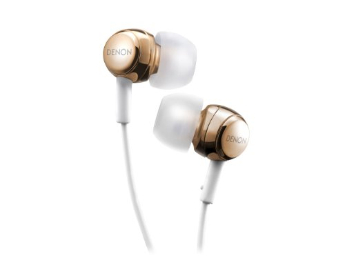 DENON AH-C260 Gold | In-Ear Stereo Headphones (Japan Import)