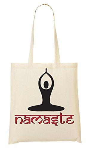 Namaste Meditation Handbag Shopping Bag