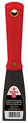 Red Devil 4823 1.5-Inch Stiff Putty Knife