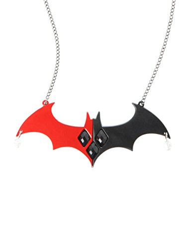 DC Comics Harley Quinn Batman Logo Statement (Mr Freeze Costume Batman)