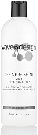 Design Essentials Define & Shine 2-N-1 Dry Finishing Lotion To Restore, Define & Revitalize Waves, Curls, and Texturized Styles - 16 Oz