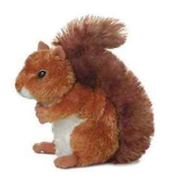 All S (Brown Squirrel Costume)