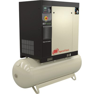 Ingersoll Rand Rotary Screw Compressor - 15 HP, 230 Volt/3-Phase, 53.9 CFM @ 115 PSI, 80-Gallon Tank, Model 48670699