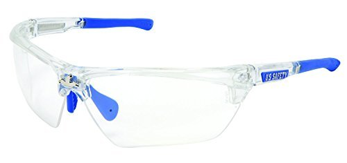 MCR Safety DM1320PF Clear Max6 Dominator DM3 Safety Glasses with Clear Frame [並行輸入品]  B07Q2ZV5KD
