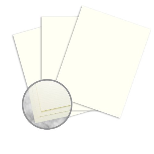 Strathmore Writing Natural White Paper - 35 x 23 in 24 lb Writing Laid 25% Cotton Watermarked 1500 per Carton by Mohawk Fine Papers Strathmore Writing