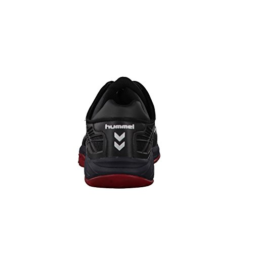 Hummel Omnicourt Z8, Zapatillas Deportivas para Interior Unisex Adulto noir/rouge