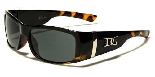 Fashion Eyewear New Men's Sleek Sports Driving Wrap Sunglasses-DG14261 - Guys In Sunglasses Hot