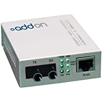 Addon 1Gbs 1 RJ-45 to 1 St Media Converter - Fiber Media Converter - Gigabit Ethernet (ADD-GMC-SX-5ST)
