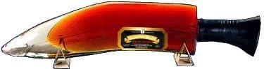 ククリ コロネーション ラム 短剣ボトル (ネパール産) 42.8度 375ml