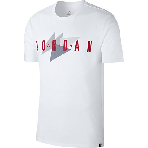 b6a9418a0b88d9 Image Unavailable. Image not available for. Color  Jordan Sportswear AJ13  Men s Shortsleeve T-Shirt White Red Grey 908007-100