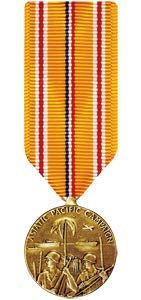 Medals of America Asiatic Pacific Campaign Medal Miniature Bronze ()