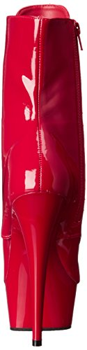 1020 Rouge Pleaser Red Femme Pat Delight Red Red Bottines OIIqwT5xf