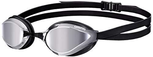 arena Unisex Training Wettkampf Schwimmbrille Python Mirror (Verspiegelt, UV-Schutz, Anti-Fog Beschichtung)