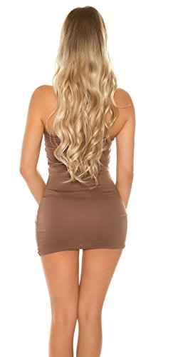 KouCla - Vestido - para mujer Cappuccino