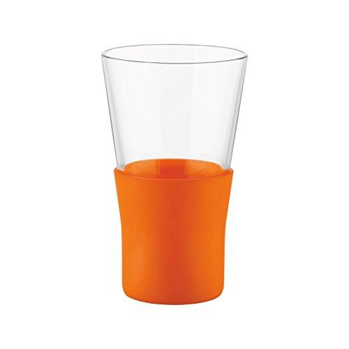 Bormioli Rocco Ypsilon Brio Mug, Orange, Set of 6 ()