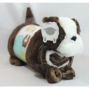 Little Miracles Baby Blanket & Plush Puppy Dog Snuggle Me Sh