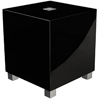 """Amazon.com: REL - T-5 - 8"""" Powered Subwoofer Gloss Black"""