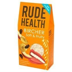 - Rude/H Bircher - Soft & Fruity Muesli| 450 g |- SUPER SAVER - SAVE MONEY by Rude Health Foods by Rude Health Foods