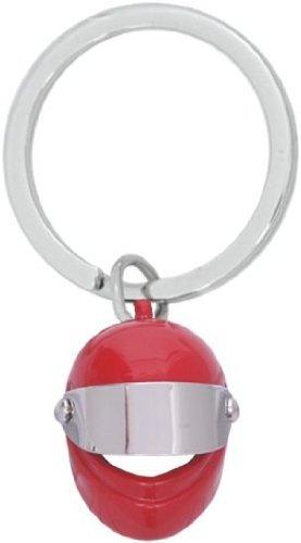 Llavero casco moto rojo.: Amazon.es: Equipaje