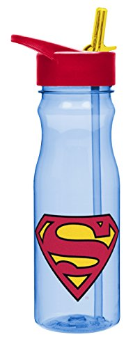 zak-designs-tritan-water-bottle-with-flip-up-spout-and-straw-featuring-superman-graphics-break-resis