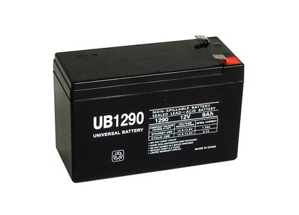 Universal Power Group UB1290 12V 9AH Sealed Lead Acid Battery F1 Terminal by Universal Power Group