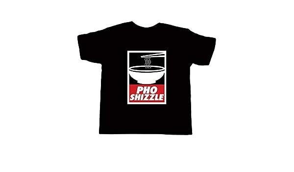 926f4d5e Amazon.com: Kid's Pho Shizzle shirt - Vietnamese Funny Asian Food T-Shirt:  Handmade