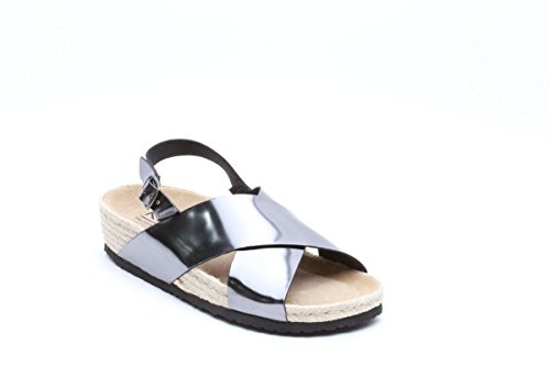 Keys sandali bassi laminati antracite