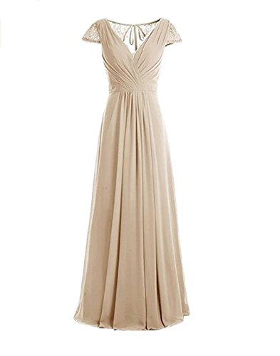 Leader of the Beauty - Vestido - para mujer beige champán 46