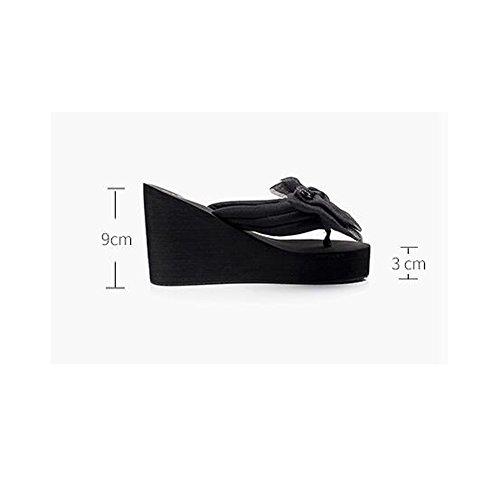 Le Donna Da 1001 Di Sandali Anni 35 Scarpe Dimensioni Pantofole colore Haizhen 9cm 1002 40 Dei Donne Antisdrucciolevoli Estate Per 18 nTwCE6B