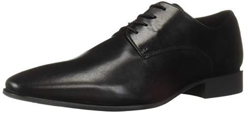 Geox Men's High Life 9 Dress Shoes Oxford Black, 41 Medium EU (8 US)