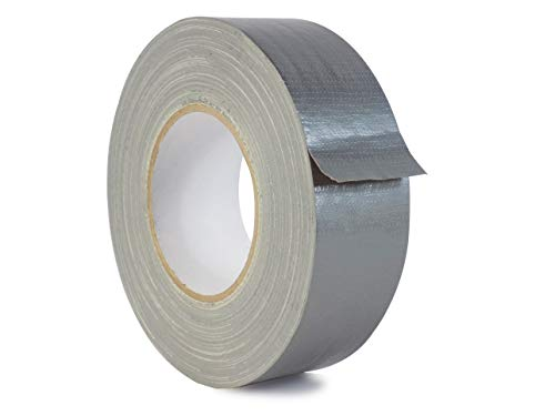 WOD CDT-UG7 Utilty Grade Silver (Gray) Duct Tape - 2 in. x 60 yds. - 24 Rolls Case - Waterproof, UV Resistant For Crafts & Home Improvement (Available in Multiple Sizes & Colors) by WOD Tape (Image #1)
