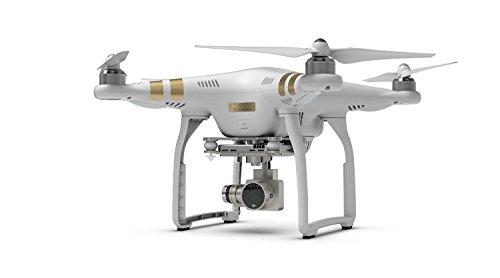 DJI Phantom 3 Professional Quadcopter Drone with 4K UHD Video Camera + 2 32GB Memory Cards + Reader