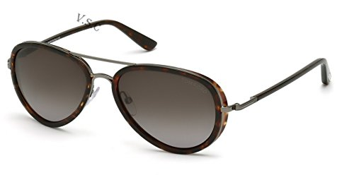 Amazon.com: Tom Ford Millas tf341 Color 09P anteojos de sol ...