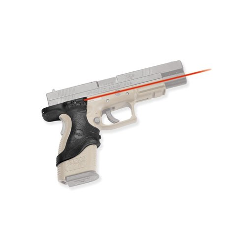 Crimson Trace Rubber (Crimson Trace LG-446 Lasergrips Red Laser Sight Grips for Springfield Armory XD Pistols)